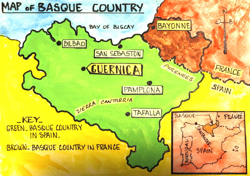 Map Of Spain Basque Region.The Basque Country Culture Cuisine And Sustainable Design Change